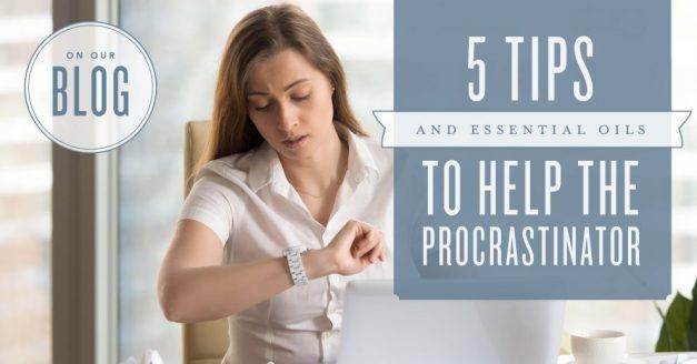 5 tips for Procrastinators