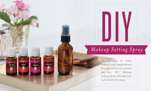 DIY Makeup Setting Spray