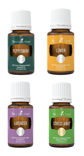 Peppermint Essential Oil, Lemon Essential Oil, Lavendar Essential Oil, Stress Away