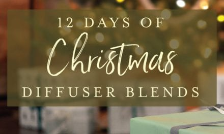 12 days of Christmas diffuser blends