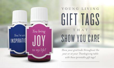 Printable Young Living Gift Tags