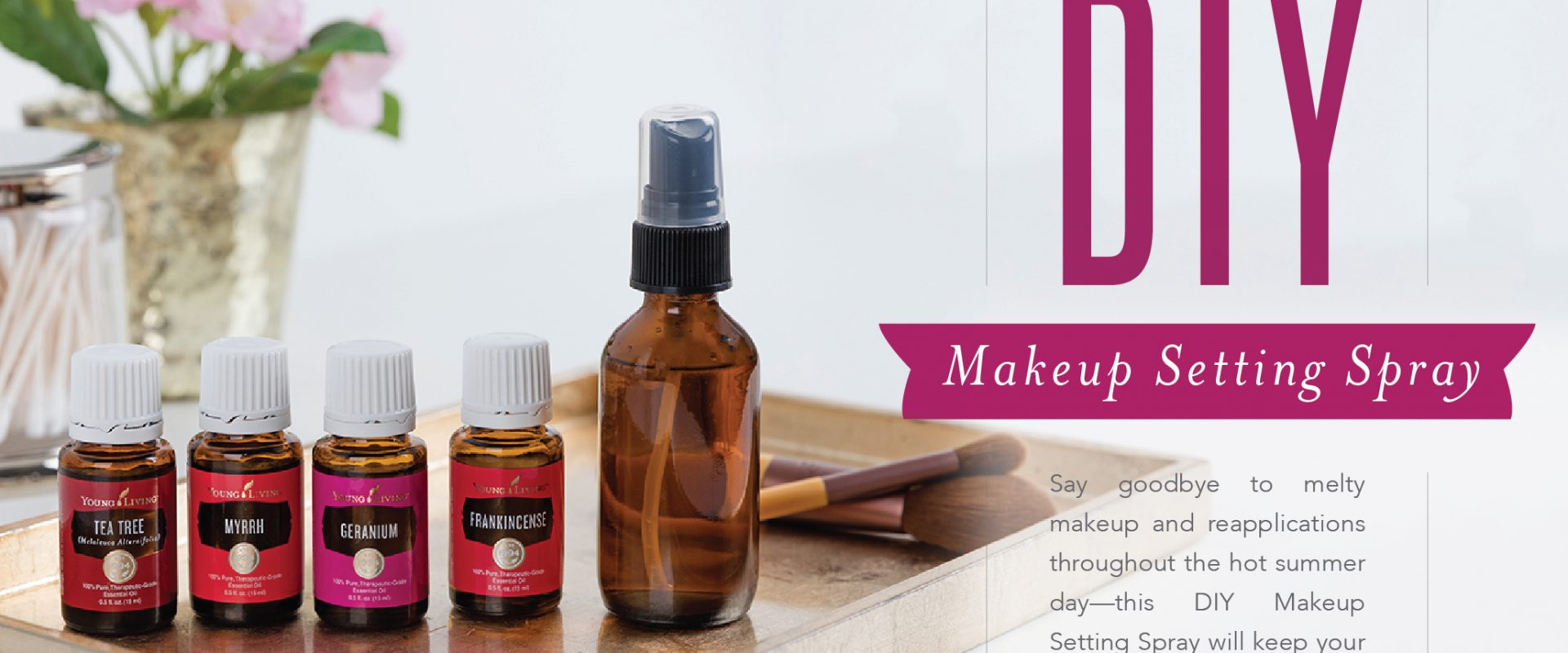 Summer is Coming!  Set your make-up Naturally!