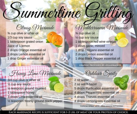 Summer Time Grilling with Young Living!