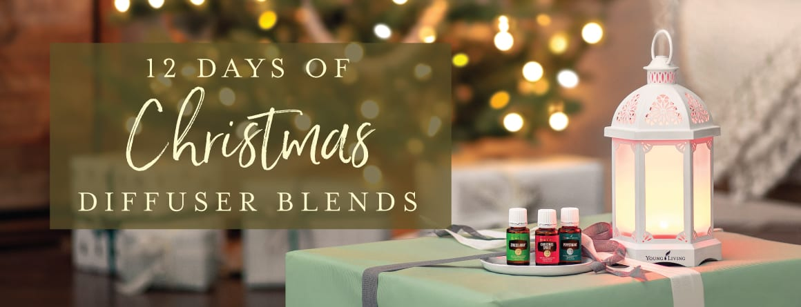 12 Days of Christmas Diffuser Blends!