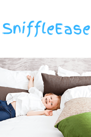 SniffleEase can be your kids new best friend!
