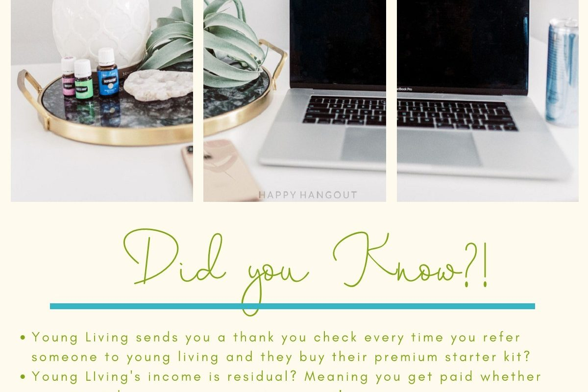 A couple of reasons to start a business with Young Living