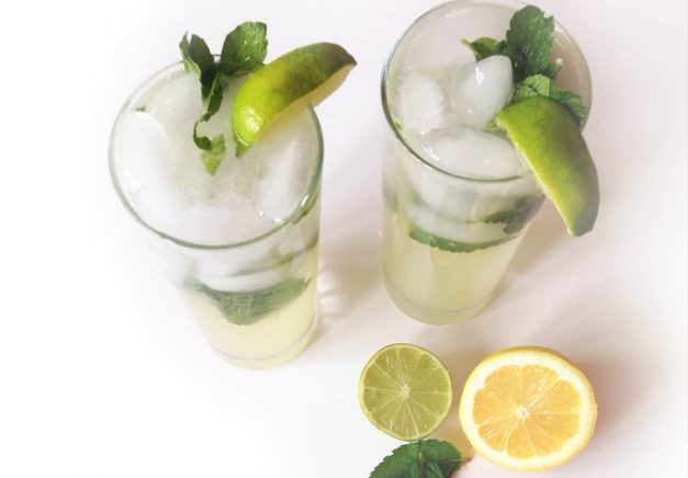 Delicious Ginger Lime Mocktail