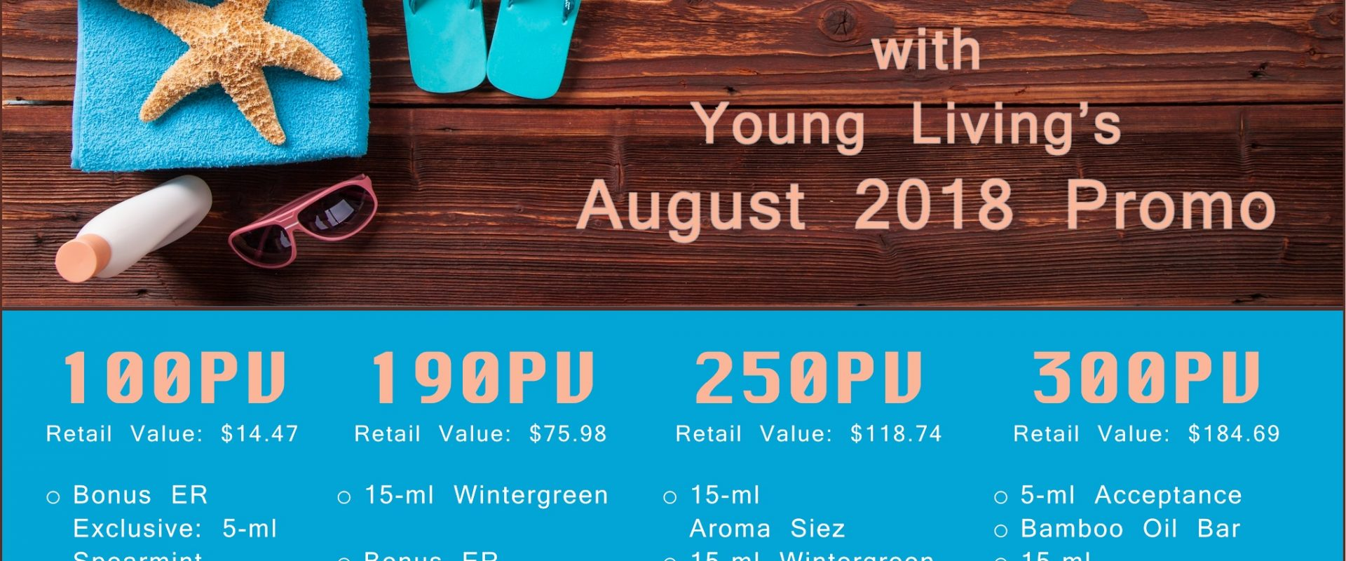 It's Still Summer with Young Living's August Promos!