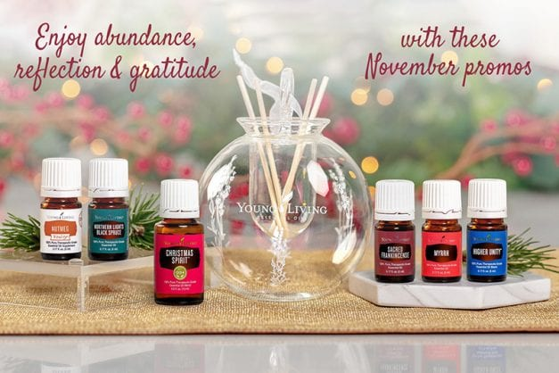 Young Living November Promo