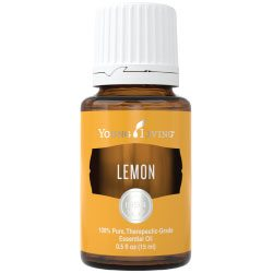 Lemon Essential Oil by: Young Living