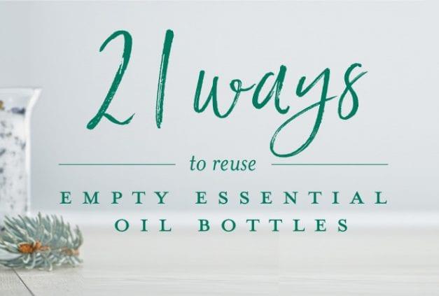 21 ways to reuse empty bottles