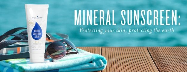 Mineral sunscreen: Protecting your skin and earth