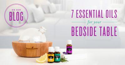 7 Essential Oils for Bedtime