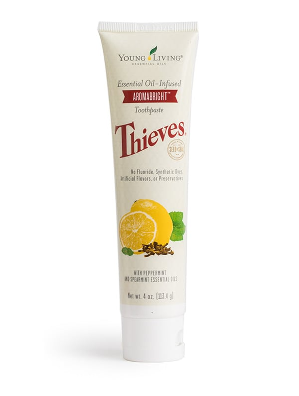 Thieves Toothpaste by: Young Living