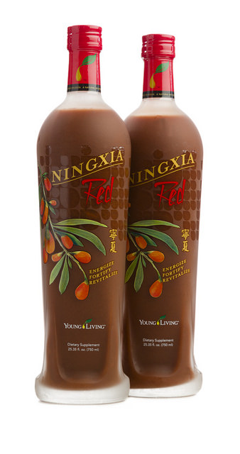 NingXia Red Bottles by: Young Living