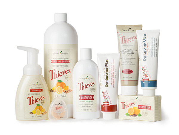 Thieves Products by: Young Living